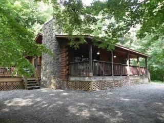 Shady Grove - Secluded Log Cabin with Fire Pit and Hot Tub Minutes from Harrahs Cherokee Casino - Bryson City vacation rentals