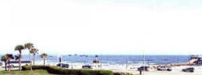 Sunrise ocean view from your deck. - Ocean View Condo in Galveston - Sleeps 6 - Galveston - rentals