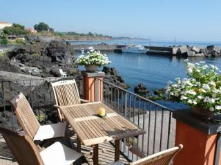 House on waterfront with private access to the sea - Acireale vacation rentals