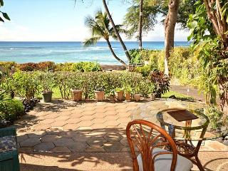Quiet Private!! End unit! Walk out to the ocean!! - Lahaina vacation rentals