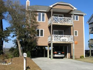 Stroll to the beautiful beach and bring your boat - Topsail Island vacation rentals