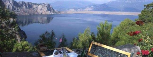View from the terrace - Villa Gokbel, Little Paradise in Conservation Area - Dalyan - rentals