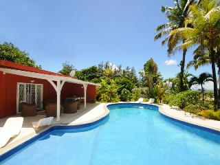Villa Philibert, with pool on the beach; - Riambel vacation rentals