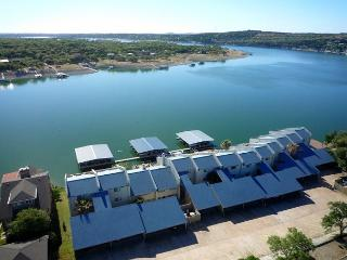 Waterfront Condo w/ Deep Water Dock & Off-Season Rates! - Spicewood vacation rentals