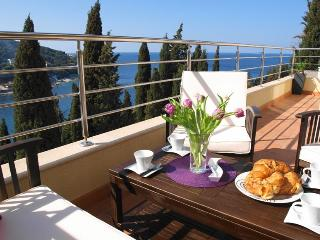 Reve Bleu  2-BR terrace, stunning views & parking! - Southern Dalmatia vacation rentals