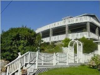 Front view of house - Spectacular views of the open ocean and harbor. - Phippsburg - rentals