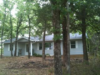 Home surrounded by trees, sleeps 10,Turner Falls - Oklahoma vacation rentals