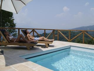 Luxury villa with private heated pool amazing view - Coreglia Antelminelli vacation rentals