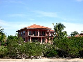 Ocean Front Home with pool on swimming beach - Playa Negra vacation rentals