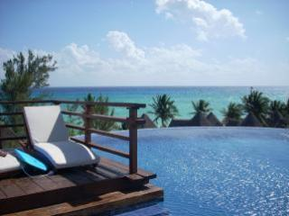 Rooftop Pool with Pano Views! - Lux Condo 14 Steps to Beach & Fab Rooftop Views - Playa del Carmen - rentals