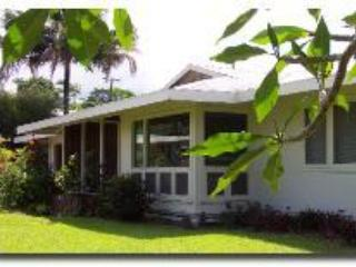 Front yard - Hale Kepani: Downtown Hilo 3BR wheelchair access - Hilo - rentals