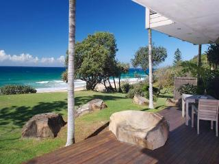 Stunning beachfront designer home on the sand dune on Sunshine Coast - Sunshine Coast vacation rentals