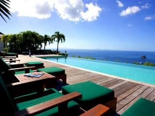 Luxury 5 bedroom Colombier villa. 270 degrees of ocean and garden views! - Anguilla vacation rentals