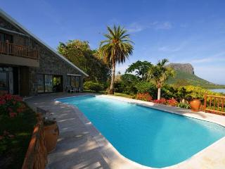 Villa Manini with unique view to le Morne Mountain - Roches Noires vacation rentals