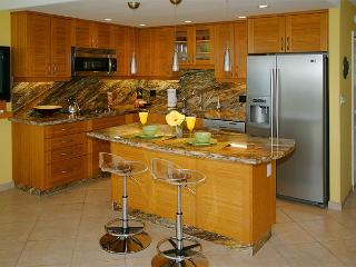 Even the Gourmet Kitchen Has a View (KS313) - Kihei vacation rentals