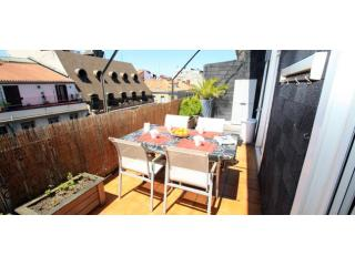 La Terraza | Great terrace next to the beach. - Basque vacation rentals