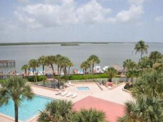 View from Balcony - Riverside - RVSF501 - Charming Waterfront Condo! - Marco Island - rentals