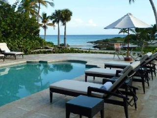Oceanfront Caleton Villa with private pool, full staff & Beach Club access - Dominican Republic vacation rentals