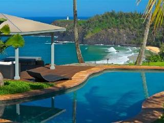 Dali Hale Estate On Secret Beach - Swimming Pool, Spa and Tennis Court - Kilauea vacation rentals