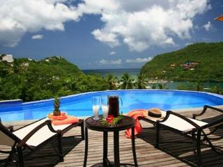 Ashiana Villa at Marigot, Saint Lucia - Panoramic Views, Pool, Air Conditioning - Marigot Bay vacation rentals