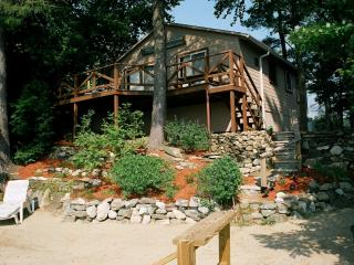 Cottage on the lake with private sandy beach - Lakes Region vacation rentals