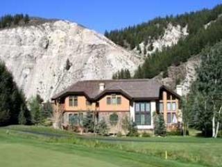 House from the 4th hole of Beaver Creek golf course - Exclusive SF Home inside Beaver Creek Resort! - Beaver Creek - rentals