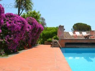 Cottages with pergola of grape vines and pool - Santa Tecla vacation rentals