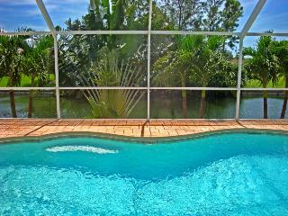 Vacation home by the water with Tiki Bar in Cape Coral, Florida! - Cape Coral vacation rentals