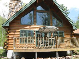 Modern Log Home on Private Lake ATV/Hiking Trails - Adirondack vacation rentals