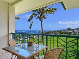 OCEAN VIEW Penthouse H403 is a GREAT prime view VALUE - Kapaa vacation rentals