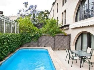 Amazing 2 bdr in front of Mamilla - private pool! - Jerusalem vacation rentals