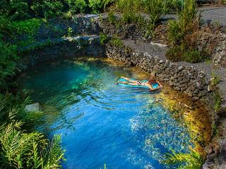 Float in the Serene Private Pond at Luana Hideaway - Pahoa vacation rentals