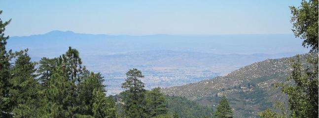 Amazing view of the mountain and city lights - Luxurious and Spacious Quail's Run on 4.5 Acres!!! - Idyllwild - rentals