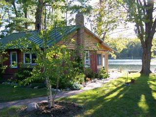 Quaint Log Cabin on Peaceful Northern MI Lake - Northwest Michigan vacation rentals