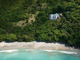 Refuge - Private beachfront villa features sea views, pool & tropical landscape - British Virgin Islands vacation rentals