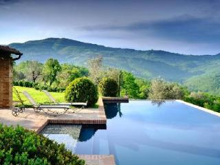 Villa San Paolo with magnificent 360° views, extensive private grounds & perfect pool - Umbria vacation rentals