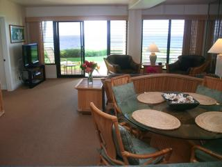 Poipu Shores 104A, Deluxe Oceanfront, 2BR Condo - Poipu vacation rentals