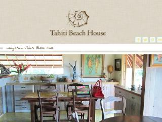 Tahiti beach house - Society Islands vacation rentals