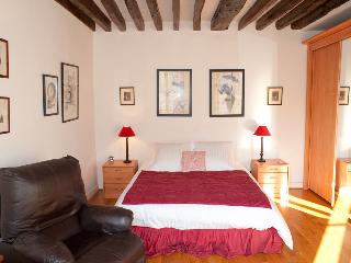 Rue du Temple. Cozy 1 bed in the Marais by the Seine and metro line 1. Chic and refurbished. - Paris vacation rentals