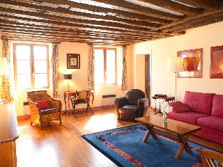 Rue du Temple. Spacious 1 bedroom in the Marais. Classical and peaceful. - Paris vacation rentals