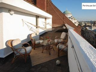 Luxus penthouse for 5 in CityCenter - roof teracce - Serbia vacation rentals