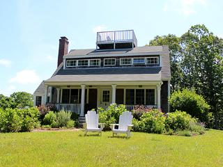 1636 - BEAUTIFUL POST & BEAM HOME SET ON 7 ACRES - Edgartown vacation rentals