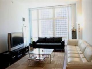 Modern Upscale Living Room Furnishings - Luxury Penthouse 1-Br  BROADWAY TIMES SQUARE - New York City - rentals