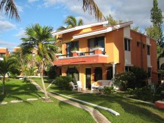Beach Front 5 Bedroom Villa- 5 minute walk to town - Puerto Morelos vacation rentals