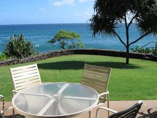 Poipu Shores 104C, 2BR OCEANFRONT Large Townhome - Kauai vacation rentals