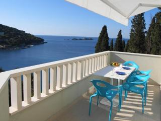 Acqua 2-BR balcony, amazing sea views &parking! - Dubrovnik vacation rentals