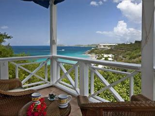 Overlooking Morningstar Beach and the Caribbean Sea, you will instantly see this villa's charm. MA CAL - South Side vacation rentals