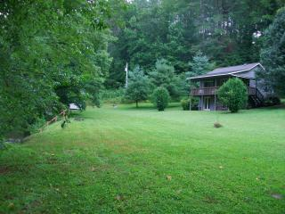 Cozy Cabin / park-like setting on rushing creek - Smoky Mountains vacation rentals