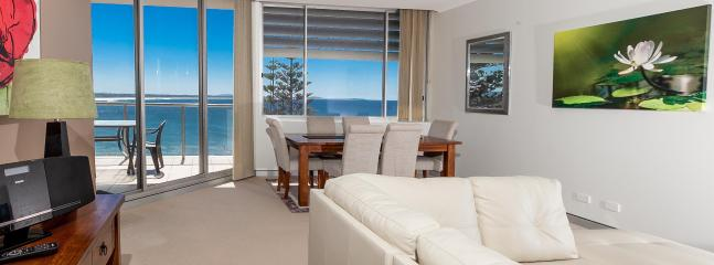 Newly renovated Lounge Room - Sandcastle 607 Beachside Apartment. Foxtel & Wifi. - Port Macquarie - rentals