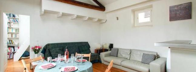 Vast light living room - Cosy quiet loft Paris center - Paris - rentals